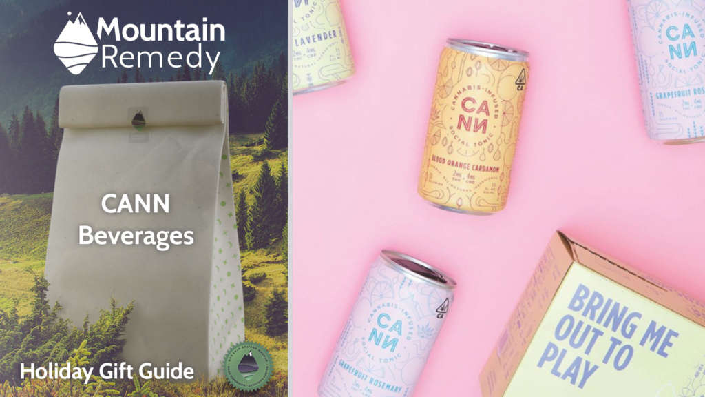 CANN low dose beverages are a great holiday gift to get delivered!