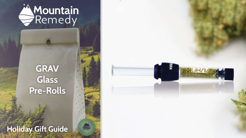 Grav glass pre-filled cannabis joints, the perfect gift delivered!