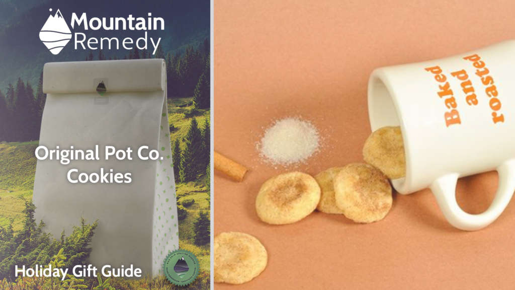 Mountain Remedy Top Ten Gift Guide 2020 Original Pot Co. cannabis infused cookies