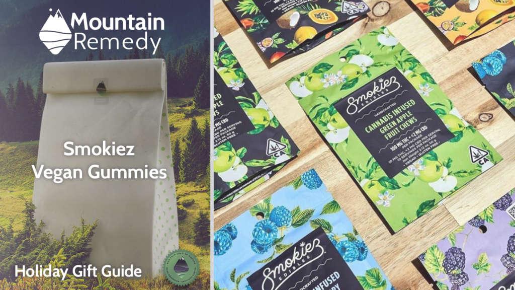 Smokiez Vegan cannabis infused gummies